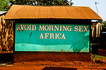 "The message to ""avoid sex early in life"" gets lost in translation in the town of Jinja, Uganda"