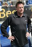 Hoffenheim 27.04.2008, Ralf Rangnick (Trainer TSG 1899 Hoffenheim) beim Spiel in der 2. Bundesliga von TSG 1899 Hoffenheim - Carl Zeiss Jena<br /> <br /> Foto © Rhein-Neckar-Picture *** Foto ist honorarpflichtig! *** Auf Anfrage in höherer Qualität/Auflösung. Belegexemplar erbeten.