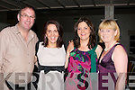 SOCIALISING: Enjoying the Charity Dance in The Earl of Desmond Hotel for Motor Neuran Disease, on Friday night last were l-r: Oliver nash, Sheila Coakley, Niamh Corridan and Helen Nash (Lyreacrompane)..
