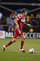 3 JULY 2010:  Brian McBride of Chicago Fire (20) during MLS soccer game between Chicago Fire vs Columbus Crew at Crew Stadium in Columbus, Ohio on July 3, 2010.