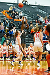 20 February 2020:  Lincoln Way West Warriors v Normal Community West Wildcats for the IHSA Girl's Regional in the gym at Normal Community in Normal IL