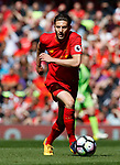 Adam Lallana of Liverpool in action during the English Premier League match at Anfield Stadium, Liverpool. Picture date: May 7th 2017. Pic credit should read: Simon Bellis/Sportimage