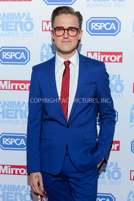 www.acepixs.com<br /> <br /> September 7 2017, London<br /> <br /> Tom Fletcher attending the Animal Hero Awards 2017 on at the Grosvenor Hotel on September 7 2017 in London<br /> <br /> By Line: Famous/ACE Pictures<br /> <br /> <br /> ACE Pictures Inc<br /> Tel: 6467670430<br /> Email: info@acepixs.com<br /> www.acepixs.com