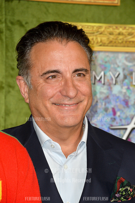 LOS ANGELES, CA. October 04, 2018: Andy Garcia at the Los Angeles premiere for &quot;My Dinner With Herve&quot; at Paramount Studios.<br /> Picture: Paul Smith/Featureflash