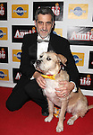 Bill Berloni & Sunny attending the Broadway Opening Night Performance After Party for 'Annie' at the Hard Rock Cafe in New York City on 11/08/2012