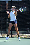 SAN DIEGO, CA - APRIL 24: Claire Soper of the Saint Marys Gaels during the WCC Tennis Championships at the Barnes Tennis Center on April 24, 2010 in San Diego, California.