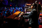BROOKLYN  -- MARCH 08, 2011:  Ivan Neville performs with Soulive at the Brooklyn Bowl on March 08, 2011 in Brooklyn.  (PHOTOGRAPHS BY MICHAEL NAGLE)