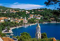 Kroatien, Dalmatien, Cavtat: kleiner, gemuetlicher Badeort auf der Halbinsel Rat | Croatia, Dalmatia, Cavtat: resort at peninsula Rat