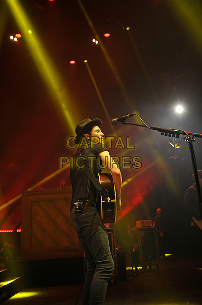 LONDON, ENGLAND - March 29: James Bay performing at Eventim Apollo on March 29, 2016 in London, England.<br /> CAP/MAR<br /> &copy; Martin Harris/Capital Pictures