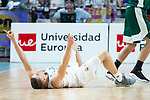 Real Madrid Jaycee Carroll during Turkish Airlines Euroleague Quarter Finals 3rd match between Real Madrid and Panathinaikos at Wizink Center in Madrid, Spain. April 25, 2018. (ALTERPHOTOS/Borja B.Hojas)