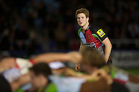 Rory Clegg of Harlequins 'A' during the Aviva Premiership A League Final between Harlequins A and Saracens Storm at the Twickenham Stoop on Monday 17th December 2012 (Photo by Rob Munro)
