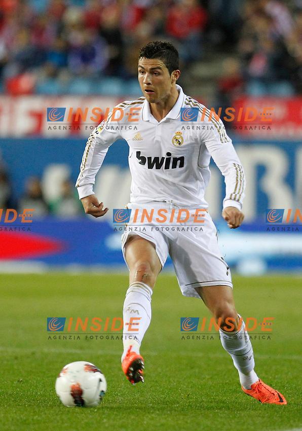 Cristiano Ronaldo (Real Mdrid) .La Liga spagnola.11/04/2012 Madrid.Photo Insidefoto / Alex Cid-Fuentes / Alterphotos..Only Italy