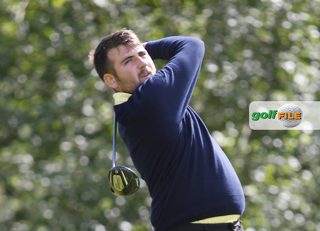 Morgan (Nenagh) on the 12th tee during the Semi-Finals of the Munster Bruen &amp; Shield Finals at East Clare Golf Club on Sunday 19th July 2015.<br /> Picture:  Golffile | Thos Caffrey All photo usage must carry mandatory copyright credit (&copy; Golffile | Thos Caffrey)