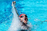 Picture by Alex Whitehead/SWpix.com - 09/04/2018 - Commonwealth Games - Swimming - Optus Aquatics Centre, Gold Coast, Australia - Luke Greenbank of England competes in the Men's 200m Backstroke heats.