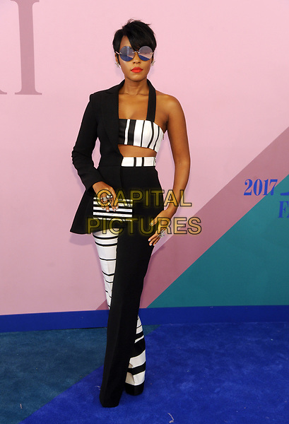 NEW YORK, NY - JUNE 5: Janelle Monae at the 2017 CFDA Fashion Awards at The Hammerstein Ballroom in New York City on June 5, 2017. <br /> CAP/MPI/JP<br /> &copy;JP/MPI/Capital Pictures
