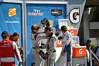 IMSA WeatherTech SportsCar Championship<br /> Sahlen's Six Hours of the Glen<br /> Watkins Glen International, Watkins Glen, NY USA<br /> Sunday 2 July 2017<br /> 93, Acura, Acura NSX, GTD, Andy Lally, Katherine Legge<br /> World Copyright: Richard Dole/LAT Images<br /> ref: Digital Image RD_WGI_17_570