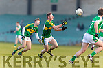 Jonathan Lyne Kerry in action against  Limerick in the Final of the McGrath Cup at the Gaelic Grounds on Sunday.