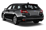 Car pictures of rear three quarter view of a 2018 Subaru Levorg GTS Premium 5 Door Wagon angular rear