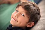 Portrait of happy young boy
