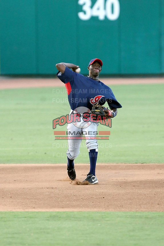 Jorge Martinez - AZL Indians - 2010 Arizona League. .Photo by:  Bill Mitchell/Four Seam Images..