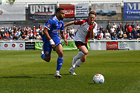 Brendan Kiernan of Welling United and Armani Little of Woking during Woking vs Welling United, Vanarama National League South Promotion Play-Off Final Football at The Laithwaite Community Stadium on 12th May 2019
