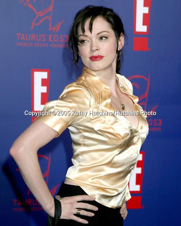 Rose McGowan.World Stunt Awards.Paramount Studios .Los Angeles, CA.September 25, 2005.©2005 Kathy Hutchins / Hutchins Photo