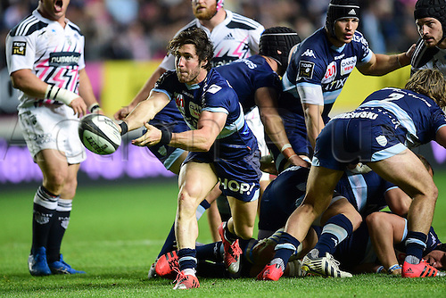 29.05.2015. Paris, France. Top 14 rugby playoff. Stade Francais versus Racing Metro.  Maxime MACHENAUD (RM92)