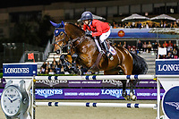 USA-Laura Kraut rides Fleurette during the Challenge Cup: 2019 CSIO Barcelona - Longines FEI Nations Cup Jumping Final. Reial Club de Polo de Barcelona. Spain. Saturday 5 October. Copyright Photo: Libby Law Photography