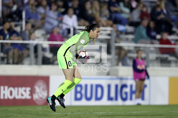 Cary, North Carolina  - Saturday September 09, 2017: Katelyn Rowland during a regular season National Women's Soccer League (NWSL) match between the North Carolina Courage and the Houston Dash at Sahlen's Stadium at WakeMed Soccer Park. The Courage won the game 1-0.