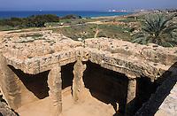 Europe/Chypre/Paphos : Tombeau des rois III° avant JC