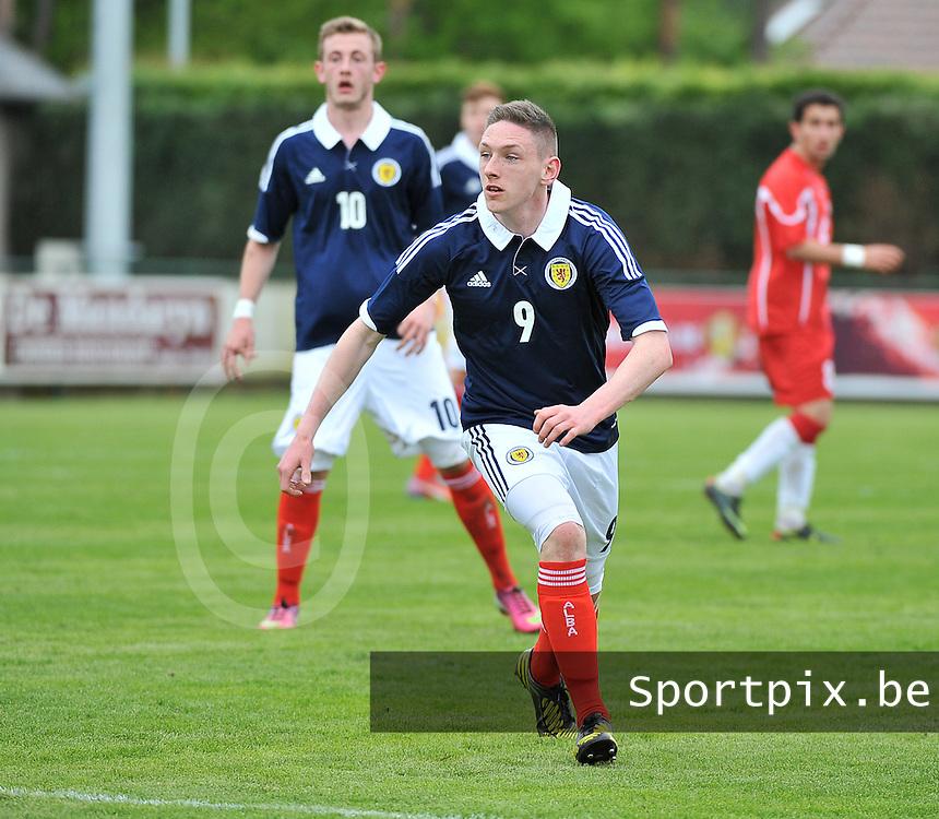 Scotland U19 - Georgia U19 : Declan Mcmanus.foto DAVID CATRY / Nikonpro.be