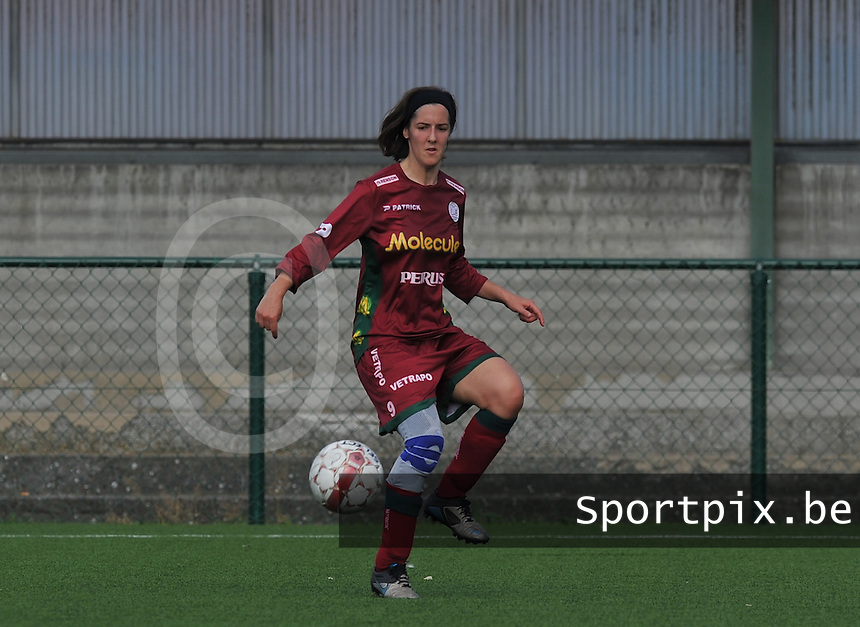 SV Zulte Waregem Dames : An Blauwblomme.foto DAVID CATRY / Vrouwenteam.be