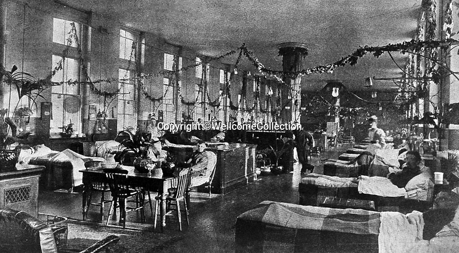 BNPS.co.uk (01202 558833)<br /> Pic: Amberley/BNPS<br /> <br /> Pictured: The Florence Nightingale ward at St Thomas's Hospital in Westminster.<br /> <br /> These rarely seen photos which provide a fascinating insight into British nursing in late 19th century feature in a new book.<br /> <br /> They reveal how the all-action nurses not only cared for patients but also prepared meals for them and did their laundry.<br /> <br /> Such was their ferocious work ethic, it is perhaps surprising they had time to be pictured sitting down together in the nurses dining room.<br /> <br /> One photo shows trainee nurses during a bandaging class, while another is of a busy male ward.<br /> <br /> The images are published in A History of Nursing, by former nurse Louise Wyatt who has charted the development of nursing from antiquity and the Middle Ages to the present day.