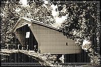 Warnke Covered Bridge, Circa 1895