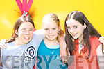 Merissa Foley, Kerry O'Connor and Grace Reilly having fun at the Cromane fun day in the Cromane GAA field on Sunday   Copyright Kerry's Eye 2008