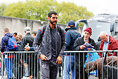 10th September 2017, Turf Moor, Burnley, England; EPL Premier League football, Burnley versus Crystal Palace; Julián Speroni of Crystal Palace arrives at the ground
