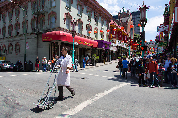 Chinatown in San Francisco, California, USA