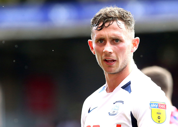 Preston North End's Alan Browne in action<br /> <br /> Photographer David Shipman/CameraSport<br /> <br /> The EFL Sky Bet Championship - Nottingham Forest v Preston North End - Saturday 31st August 2019 - The City Ground - Nottingham<br /> <br /> World Copyright © 2019 CameraSport. All rights reserved. 43 Linden Ave. Countesthorpe. Leicester. England. LE8 5PG - Tel: +44 (0) 116 277 4147 - admin@camerasport.com - www.camerasport.com