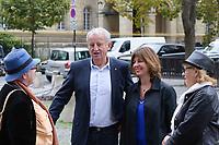 Yann Queffélec - Hommage à Gonzague Saint Bris en l'église Saint-Sulpice à Paris, France - 28/9/2017