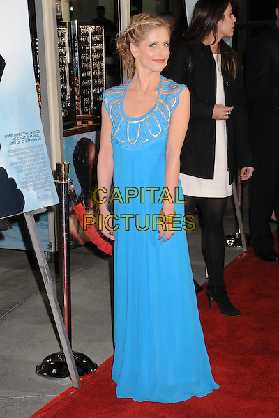 "SARAH MICHELLE GELLAR.""The Air I Breathe"" Los Angeles Premiere at ArcLight Cinemas, Hollywood, California, USA,.15 January 2008..full length blue turquoise dress long maxi.CAP/ADM/BP.©Byron Purvis/AdMedia/Capital Pictures."