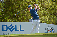 Matt Fitzpatrick (ENG) watches his tee shot on 12 during day 1 of the WGC Dell Match Play, at the Austin Country Club, Austin, Texas, USA. 3/27/2019.<br /> Picture: Golffile | Ken Murray<br /> <br /> <br /> All photo usage must carry mandatory copyright credit (© Golffile | Ken Murray)