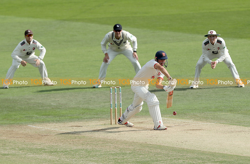 Sir Alastair Cook of Essex vends the ball during Kent CCC vs Essex CCC, Specsavers County Championship Division 1 Cricket at the St Lawrence Ground on 20th August 2019