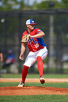 Yoraco Muller (10) during the Dominican Prospect League Elite Florida Event at Pompano Beach Baseball Park on October 14, 2019 in Pompano beach, Florida.  (Mike Janes/Four Seam Images)