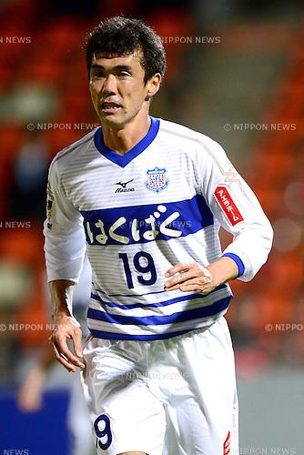 Kohei Morita (Ventforet),.APRIL 10, 2013 - Football / Soccer :.2013 J.League Yamazaki Nabisco Cup Group A match between Omiya Ardija 1-3 Ventforet Kofu at NACK5 Stadium Omiya in Saitama, Japan. (Photo by AFLO)