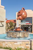 Soaring Teapot Fountain at Camellia Square Temple City