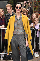 Erin O'Connor<br /> arrives for the Topshop Unique AW17 show as part of London Fashion Week AW17 at Tate Modern, London.<br /> <br /> <br /> &copy;Ash Knotek  D3232  19/02/2017