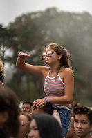 SAN FRANCISCO, CALIFORNIA - AUGUST 10: Atmosphere / Fans at the 2019 Outside Lands Music And Arts Festival at Golden Gate Park on August 10, 2019 in San Francisco, California. Photo: Alison Brown/imageSPACE/MediaPunch<br /> CAP/MPI/IS<br /> ©IS/MPI/Capital Pictures