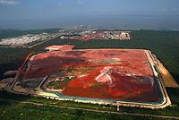 109 fotos para acervo da Alunorte 2008.<br /> Barcarena, Par·, Brasil.<br /> Paulo Santos/Interfoto<br /> set/out/2008 DepÛsito de rejeitos.