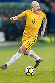 23rd March 2018, Ullevaal Stadion, Oslo, Norway; International Football Friendly, Norway versus Australia; Aaron Mooy of Australia controls the ball