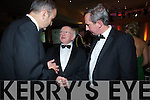 Micheal Martin, President Michael D Higgins and Jerry Kennelly at the Ernst & Young Entrepreneur awards in Citywest Hotel, Dublin on Thursday Night.